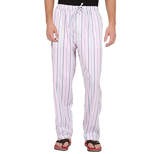 AllTimes Men's White Color Track Pant