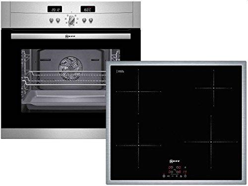 Neff X40BP4 Ensemble plaque de cuisson à induction et four avec fonction pyrolyse