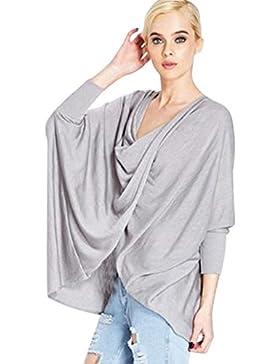 Blusas, Oyedens Manga corta de blusa casual superior de la camiseta del hombro