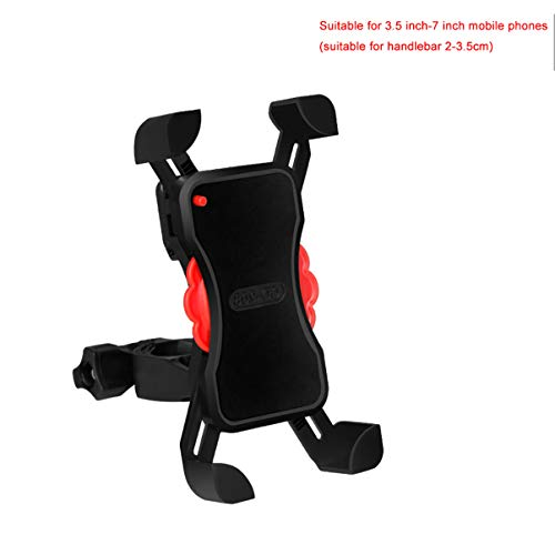 Y-only Porta Cellulare Bici 360° Rotabile Anti-Vibrazioni Universale Supporto Telefono da Bici e Moto per Bicicletta Ciclismo per Tutti Gli Smartphone3.5-7 Pollici,handlebarstyle
