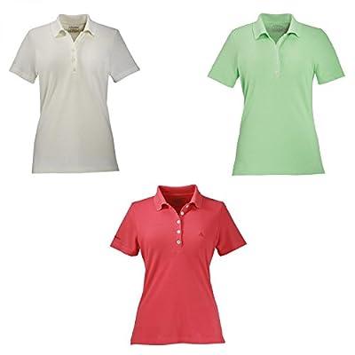 Schöffel Poloshirt kurzarm Gardia, Funktions Shirt. Superschön. Damen. Green. von Schöffel - Outdoor Shop