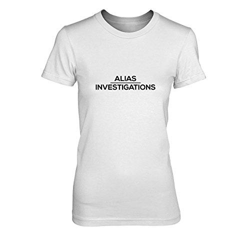 Alias Investigations - Damen T-Shirt, Größe: XL, Farbe: ()