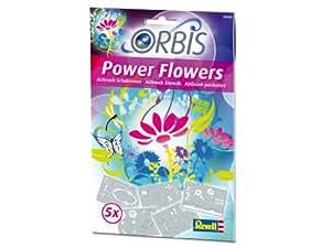 Revell - 30200 - Loisir Créatif - Set de Pochoirs - Power Flowers