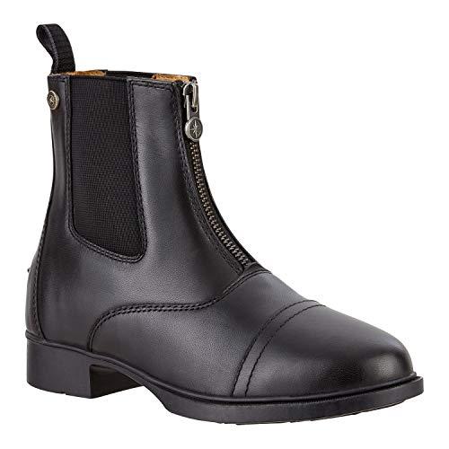 SUEDWIND FOOTWEAR Stiefelette »Kids FZ« mit Reißverschluss vorne. Bequeme Boots aus Echtleder | Kinder-Reitschuh mit toller Passform | Stiefel Größen 29-36 | Farbe: Schwarz