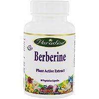 Paradise Herbs - Extracto activo de la planta de berberina - 60cápsulas vegetarianas