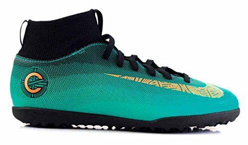 Nike Mercurial Superfly Club CR7 TF JR - AJ3088390 - Couleur: Turquoise - Pointure: 36.5
