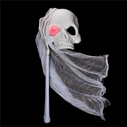 Schädel Teil Maske Maske der Hellen Bar Ktv Halloween Party ()