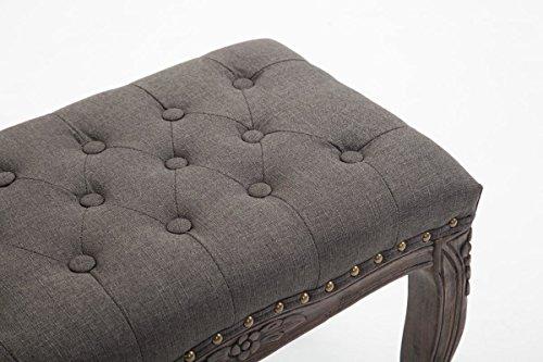 Panca Imbottita Design : Clp panchetta da interno nefertiti in tessuto imbottita