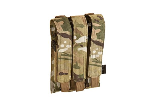Invader Gear Airsoft Triple Molle Mp5 Magazine Pouch Various Camo's Softair