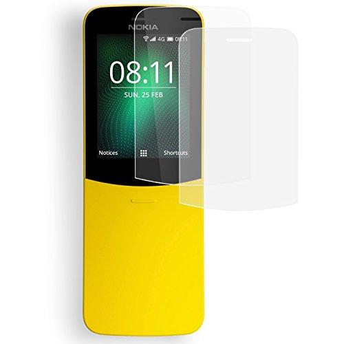 Olixar Pellicola Protettiva Nokia 8110 4G - Pellicola Protettiva - Protezione Schermo 2 in 1 - Transparente