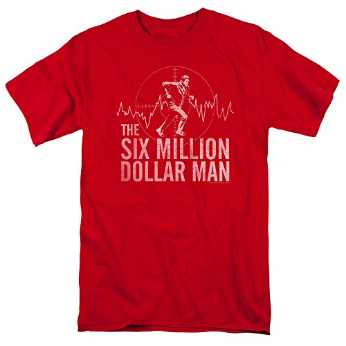 The Six Million Dollar Man Adults T-shirt
