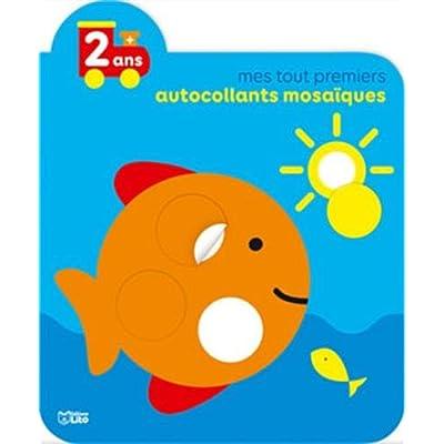 Mes tout premiers autocollants mosaiques: Le poisson - Dès 2 ans
