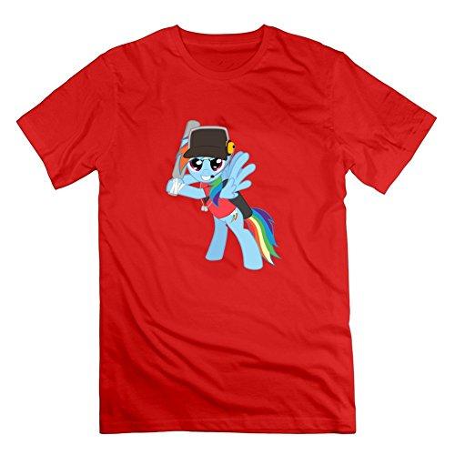 Medic und weiblich Scout kristylogan Herren grau anpassbare T Shirt Medium rot -