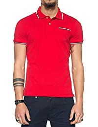 Gant 3-Col Tipping Pique Ss Rugger, Polo Homme