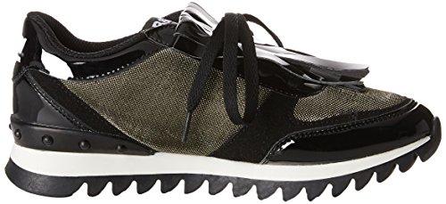 Break&Walk Hi221706, Sneaker Alte Donna Nero