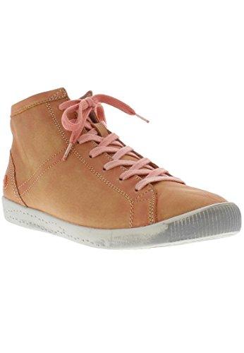 Sneaker Alta Da Donna Softinos Isleen Nera