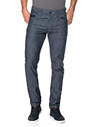 Salsa - Pantalons fantaisie Lima en bleu foncé - Homme