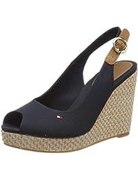 a2420cbd85c Tommy Hilfiger Women s s Iconic Elena Basic Sling Back Sandals