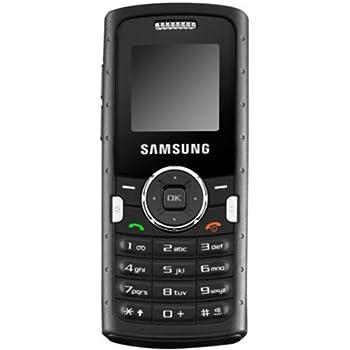 Samsung M110 Téléphone portable monobloc GPRS Résistant aux chocs (IP54) Photo VGA Radio FM Bluetooth Noir