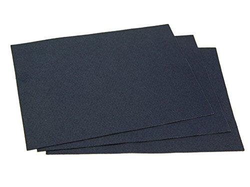Selbstklebende Rückseite, Acryl Filz Stoff 22,9x 30,5cm Rechteck Navy Blau–Pro 2Bögen + Gratis Minerva Crafts Craft Guide (Bogen-guide)