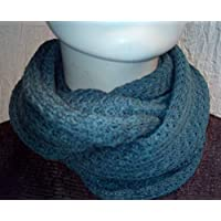 Ice Blue Double Wrap Snood