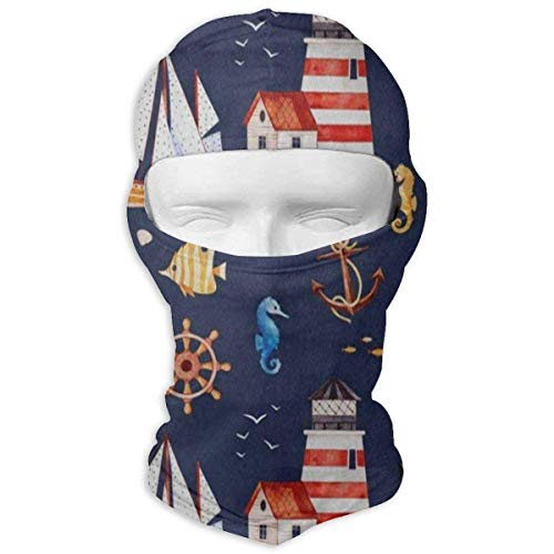 Vidmkeo Balaclava Colored Giraffe Polka Dot Full Face Masks Motorcycle Neck Hood Unisex19 Polka Dot Hood