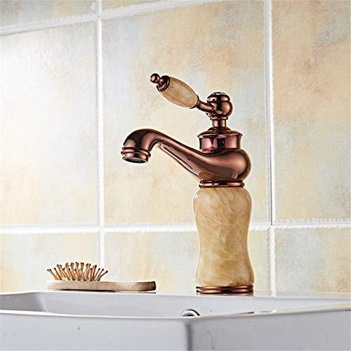 All-Kupfer-Bad Wasserhahn Lift-Typ sitzen Waschbecken Wasserhahn nach