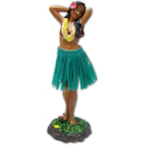 Hawaiian-Dashboard-Doll-Leilani-Girl-Posing-Green-by-KC-Hawaii