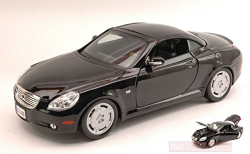 maisto-mi31658bk-lexus-sc-430-coupe-2000-black-118-modellino-die-cast-model