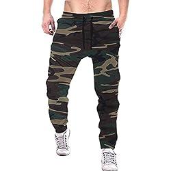 Tripr Men's Camouflage Trackpant (Medium)