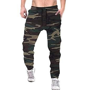 Tripr Men's Camouflage Trackpant (Large)