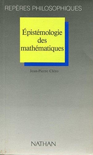 Epistémologie des mathématiques - Nathan - 1990