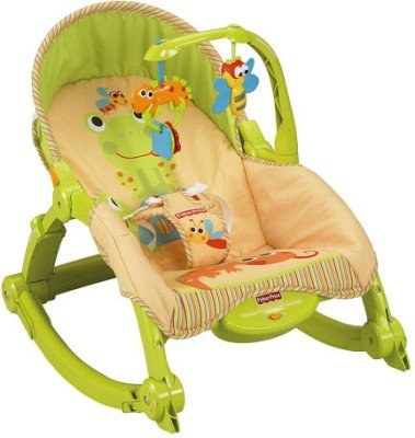 Fisher-Price Newborn-to-Toddler Rockers(Multicolor)