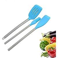 MEICHEN Set creativi del silicone del silicone cucina tre pezzi aiutante in cucina che spala pennello in silicone