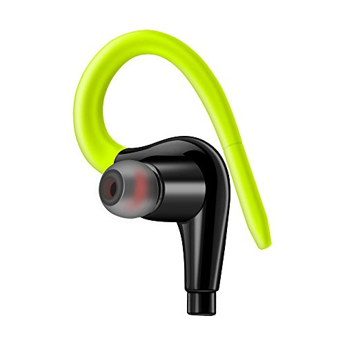 OHQ Auriculares Impermeable IPX5 Auriculares Deporte Correr Auriculares EstéReo Bass Auriculares MicróFono Auricular Bluetooth Cargador Linea Datos TeléFono MóVil