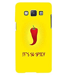 Fuson 3D Printed Designer back case cover for Samsung Galaxy A3 - D4522