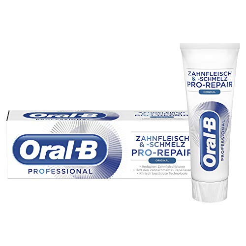 Oral-B Zahnfleischund -schmelz Pro-Repair Original Zahnpasta, 6er Pack (6 x 75 ml) - Oral-b-fluorid