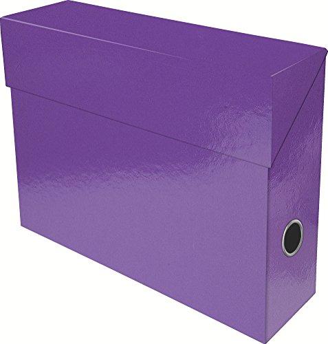 exacompta-89926e-boite-transfert-papier-9-cm-violet