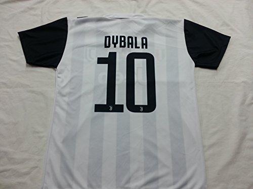 Ape-logo-t-shirt (T-Shirt Fußball Paulo Dybala 10 Juventus Neu Saison 2017-2018 Replica Offizielle mit Lizenz - Alle Größen Kinder und Erwachsene (12 Jahre))