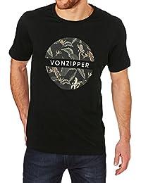Tee shirt Von Zipper Monkey Business Noir