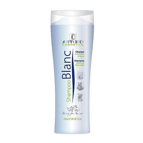 Artero Blanc, Champú para Perros de Pelo Blanco o Negro. (250 ml)