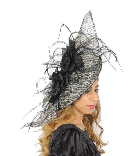 Hats By Cressida - Capeline -  Femme Violet - Aubergine