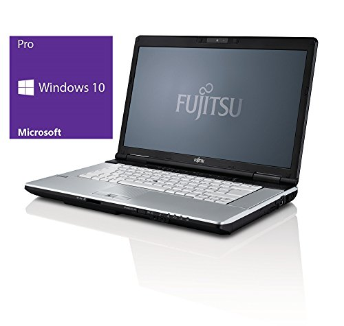Fujitsu Lifebook E751 Notebook | 15 Zoll Display | Intel Core i5-2410M @ 2,3 GHz | 4GB DDR3 RAM | 500GB HDD | DVD-Brenner | Windows 10 Pro vorinstalliert (Generalüberholt)