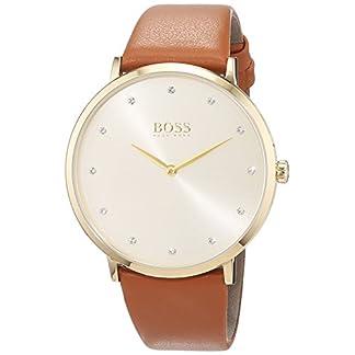 Hugo BOSS Reloj Análogo clásico para Mujer de Cuarzo con Correa en Cuero 1502411