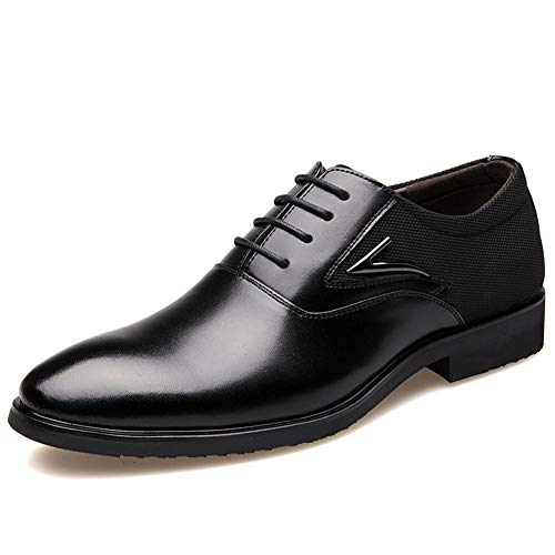 Business Herren Schuhe Grundlegende Flache Superfaserleder Sanfte Hochzeitskleid Schuhe Formale...
