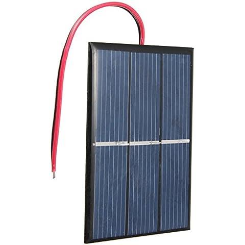 0.65w 1.5v 0-300ma mini pannello solare con filo