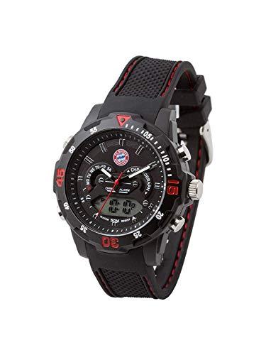Bayern MÜNCHEN kompatibel Digitaluhr + Aufkleber München Forever, Armbanduhr FCB Uhr Watch ver Regarder 20161
