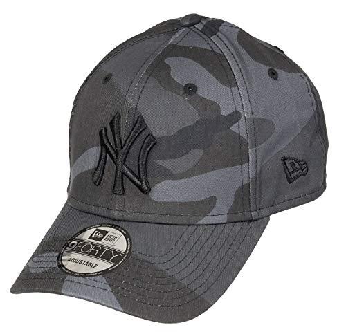 New Era Camo Essential 9Forty Cap NY Yankees Grau Camo, Size:ONE Size -