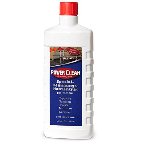 (29,90€/L) Power Clean Spezial-Reinigung-Konzentrat 1x500ml Teppichreiniger, Polsterreiniger