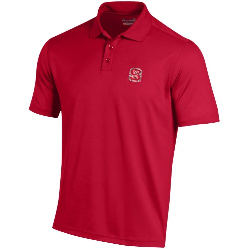 NCAA Herren Performance Polo Shirt, Herren, rot